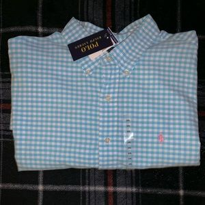 RalphLauren Plaid Custom Fit